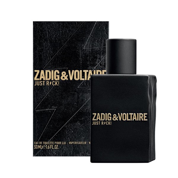 Zadig&voltaire just rock eau de toilette 50ml vaporizador