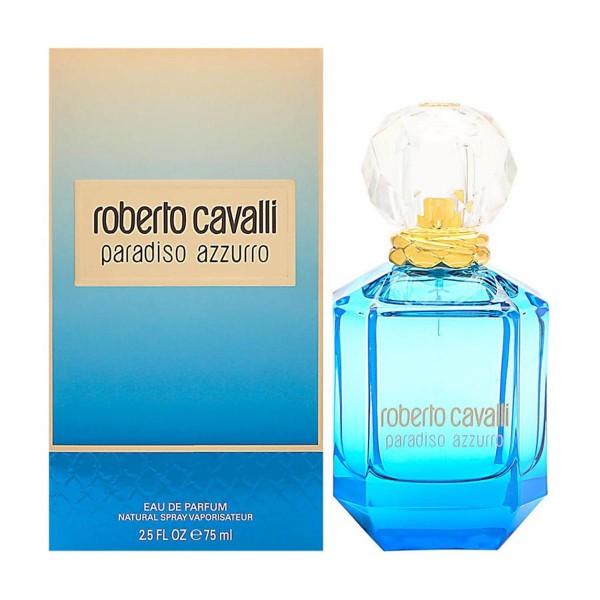 Roberto cavalli paradiso azurro eau de parfum 75ml vaporizador