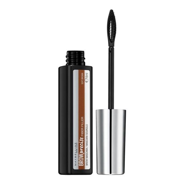 Maybelline brow precise fiber filler mascara de pestañas 04 soft brown