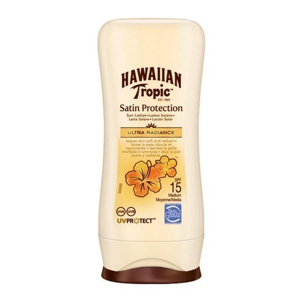 Hawaiian tropic satin protection ultra radiance sun locion spf15 100ml