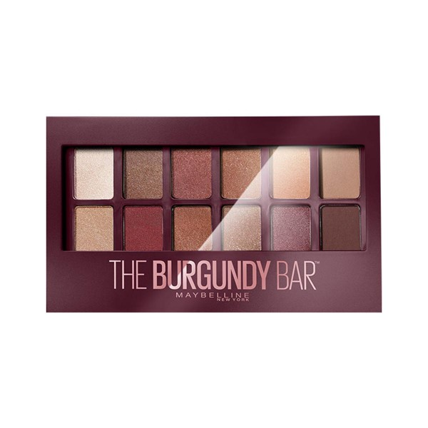 Loreal the burgundy bar paleta sombra de ojos 4