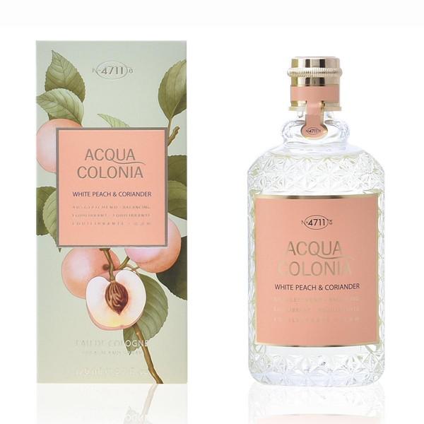 4711 acqua colonia eau de cologne white peach & coriander 170ml vaporizador