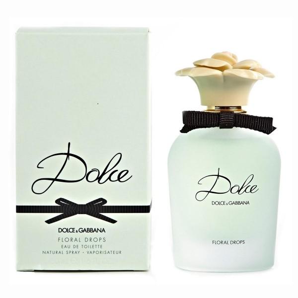Dolce & gabbana docle floral drops eau de toilette 50ml vaporizador