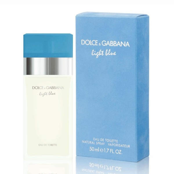 Dolce & gabbana light blue eau de toilette 50ml vaporizador