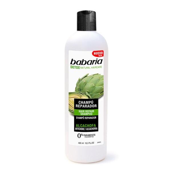 Babaria alcachofa champu reparador 400ml
