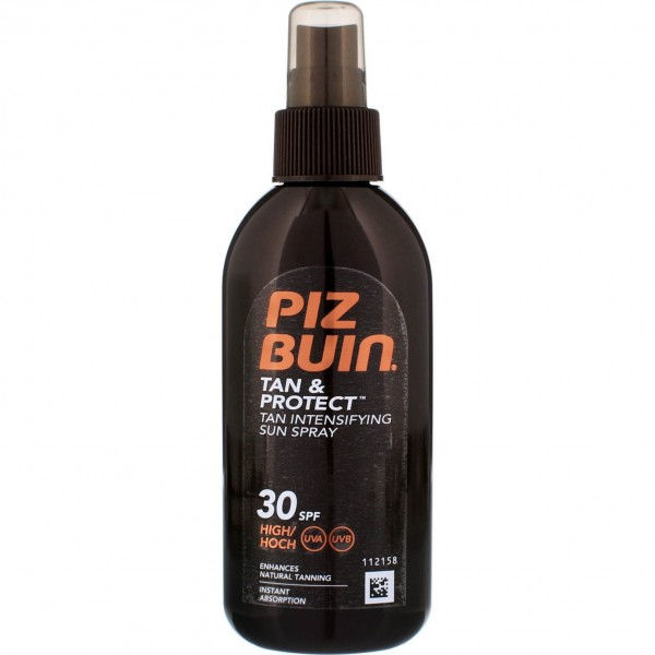Piz buin tan & protect oil spray spf30 150ml vaporizador