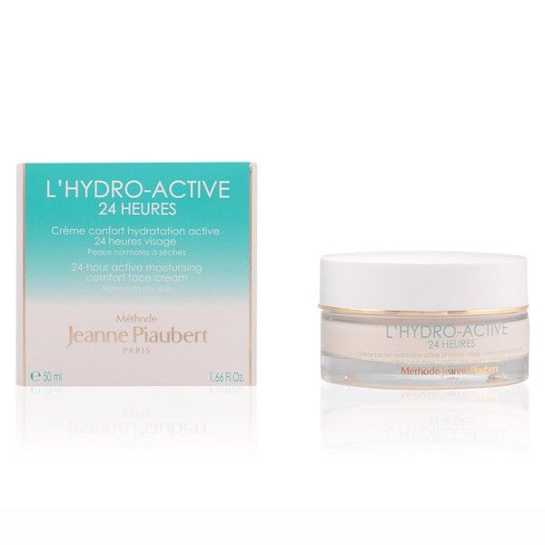 Jeanne piaubert l'hydro-active 24h moisturizing face cream normal to dry skin 50ml