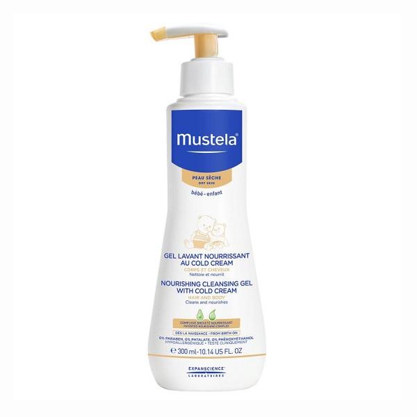 Mustela bebe nourishing cleansing gel piel seca 300ml