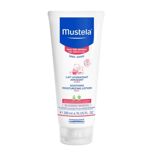 Mustela bebe soothing moisturizing lotion very sensitive skin 200ml