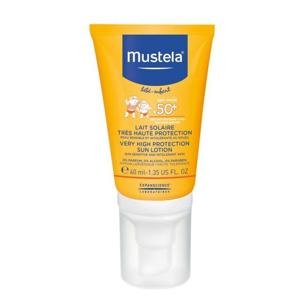 Mustela bebe sun lotion spf50+ 40ml