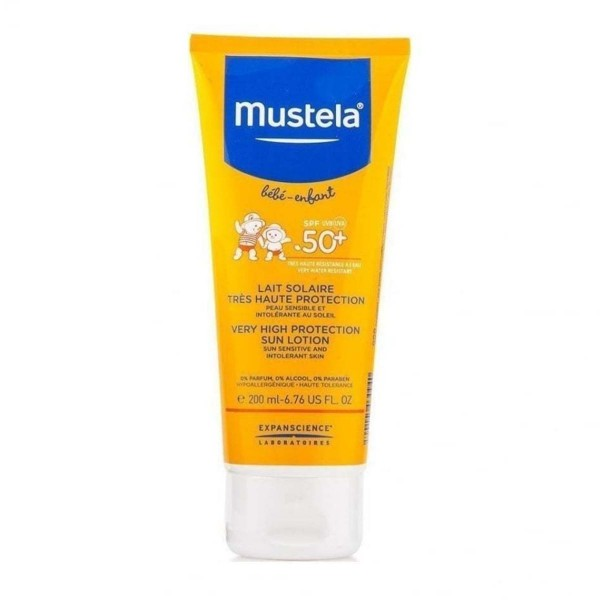 Mustela bebe sun lotion spray spf50+ 200ml