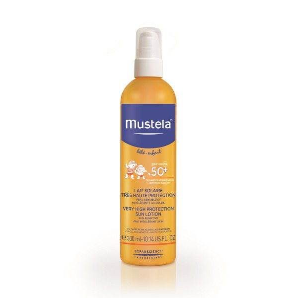 Mustela bebe sun lotion spray spf50+ 300ml