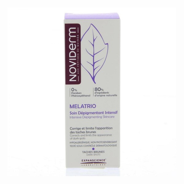 Mustela melatrio intensive depigmenting skincare cream 30ml
