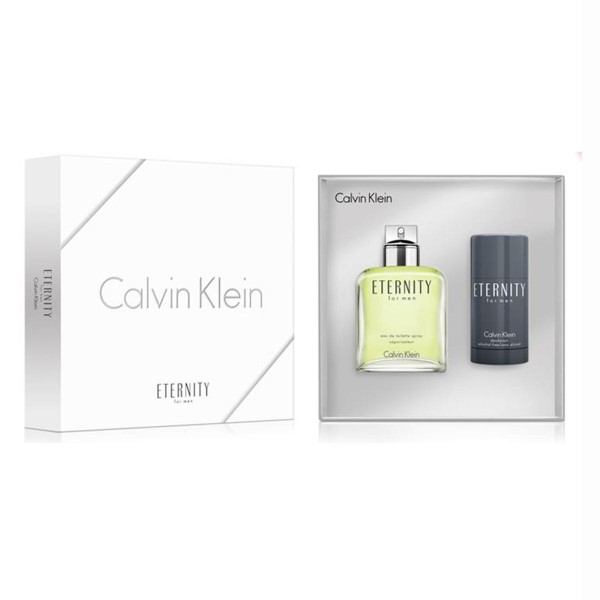 SET Calvin klein eternity for men eau de toilette 100ml vaporizador + desodorante stick 75gr
