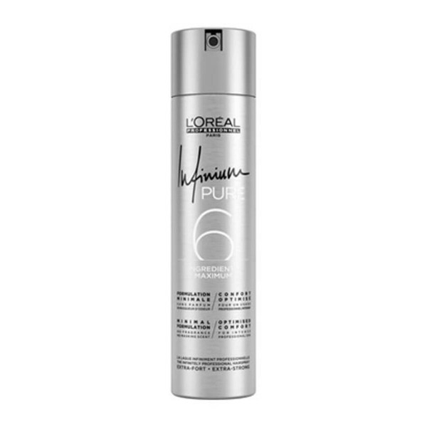 L'oreal infinium pure laca fuerte fragrance free 500ml