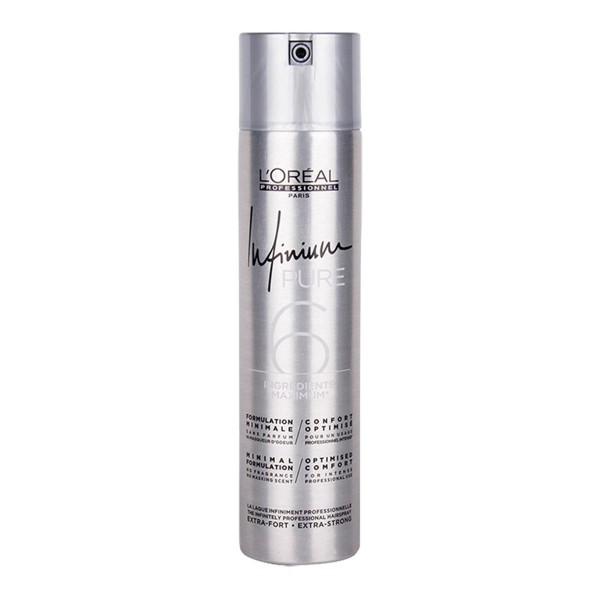 L'oreal infinium pure laca super fuerte fragrance free 500ml