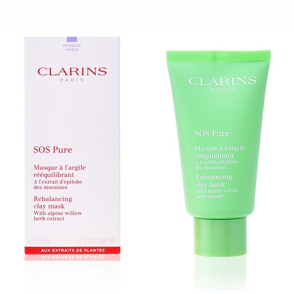 Clarins sos pure clay mask 75ml