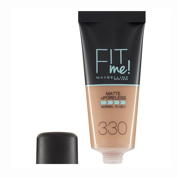 Maybelline fit me matte+poreless base 330 toffee