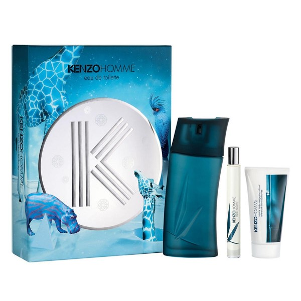Givenchy pour homme eau de toilette 100ml vaporizador + after shave 50ml + miniatura 15ml