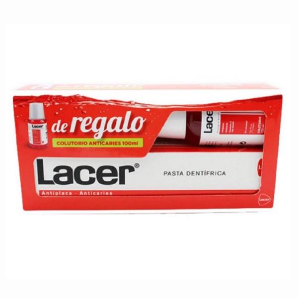 Lacer lacer dentifrico 225ml + colutorio 100ml