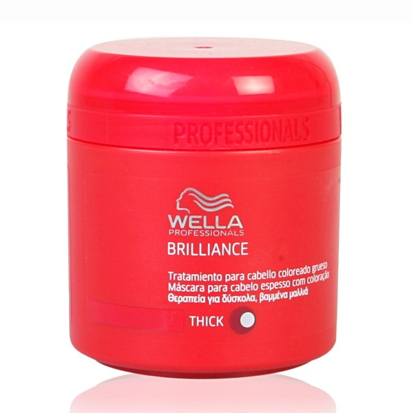 Brilliance mascarilla cabello grueso 150ml