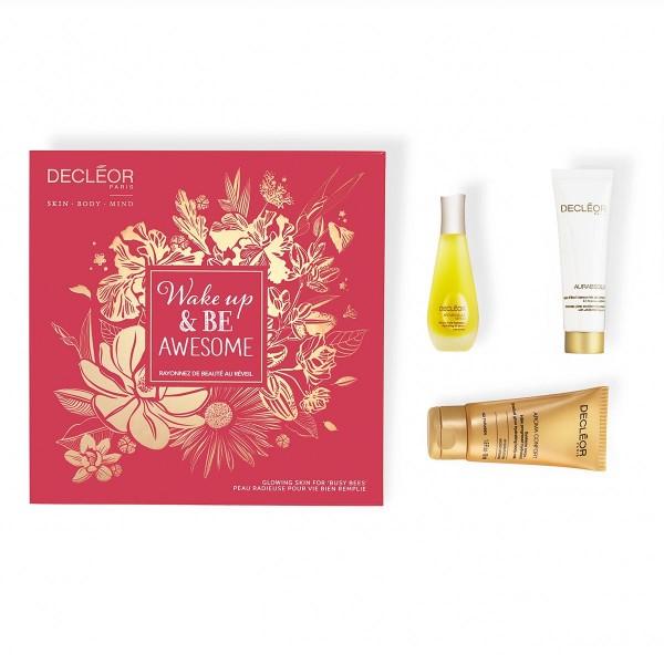 Decleor aurabsolu intense intense glow cream 30ml + aroma confort leche corporal 50ml + aromessence neroli amara serum 15ml
