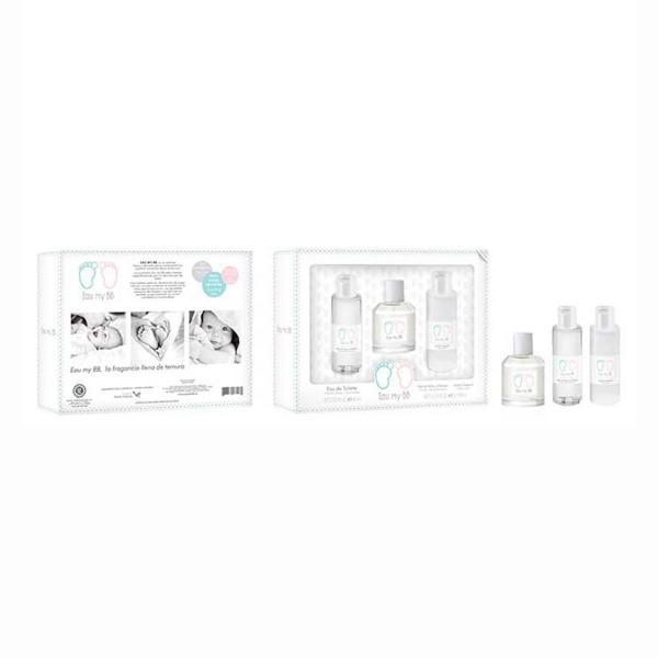 Eau my bb eau my bb eau de toilette 460ml vaporizador + shower gel 200ml + perfumed body lotion 200ml