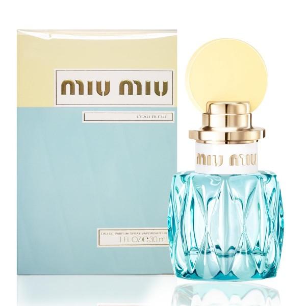Miumiu l'eau bleue eau de parfum 30ml vaporizador