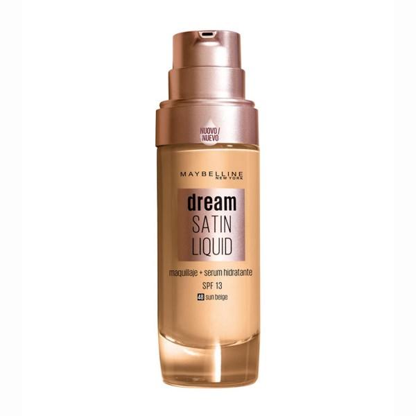 Maybelline dream satin liquid base 48 sun beige