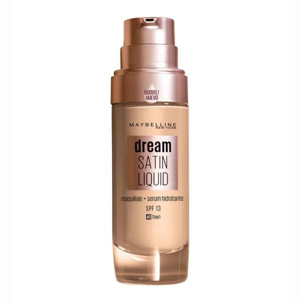 Maybelline dream satin liquid base 40 sun beige