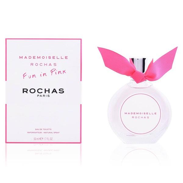 Rochas mademoiselle fun in pink eau de toilette 90ml vaporizador