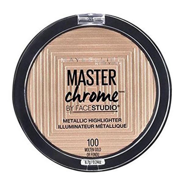 Maybelline masterchrome metallic iluminador 100 molten gold