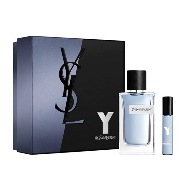 SET Yves saint laurent y men eau de toilette 100ml vaporizador + miniatura 10ml