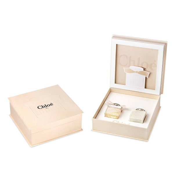 Chloe chloe eau de parfum 50ml vaporizador + perfumed body lotion 100ml
