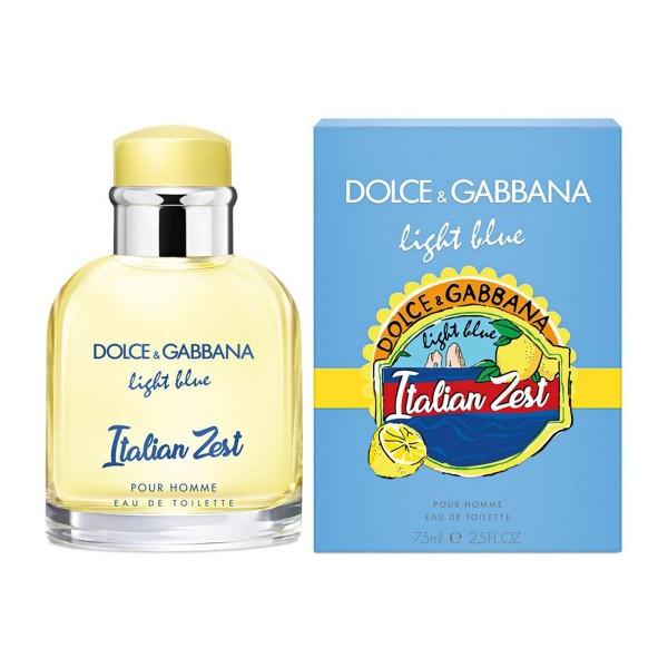 Dolce & gabbana light blue italian zest eau de toilette 75ml vaporizador
