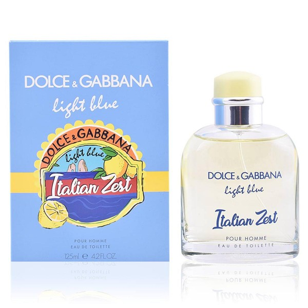 Dolce & gabbana light blue italian zest eau de toilette 125ml vaporizador
