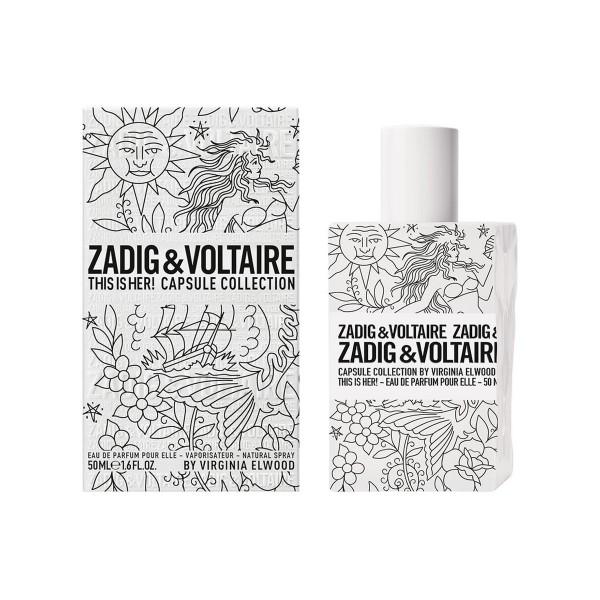 Zadig&voltaire this is her eau de parfum capsule collection 50ml vaporizador