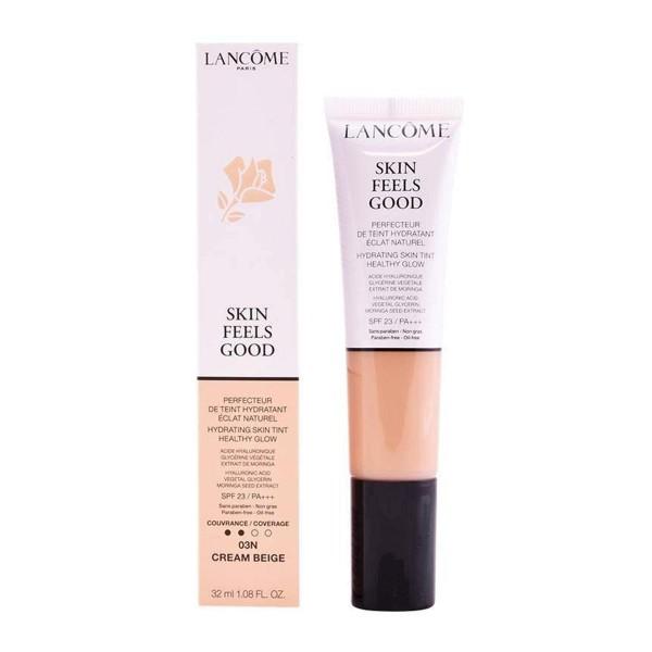 Lancome skin feels good base hidratante 03n cream beige 32ml