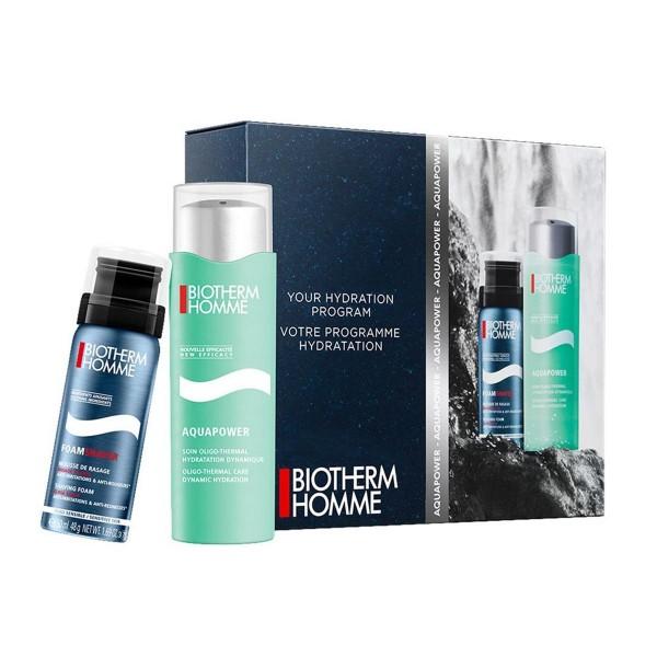 Biotherm homme aquapower crema piel normal a mixta 75ml + espuma de afeitar 50ml