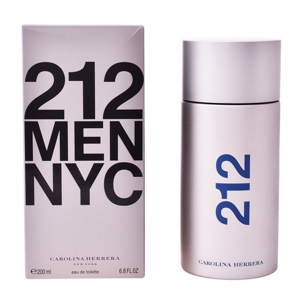 Carolina herrera 212 men eau de toilette 200ml vaporizador