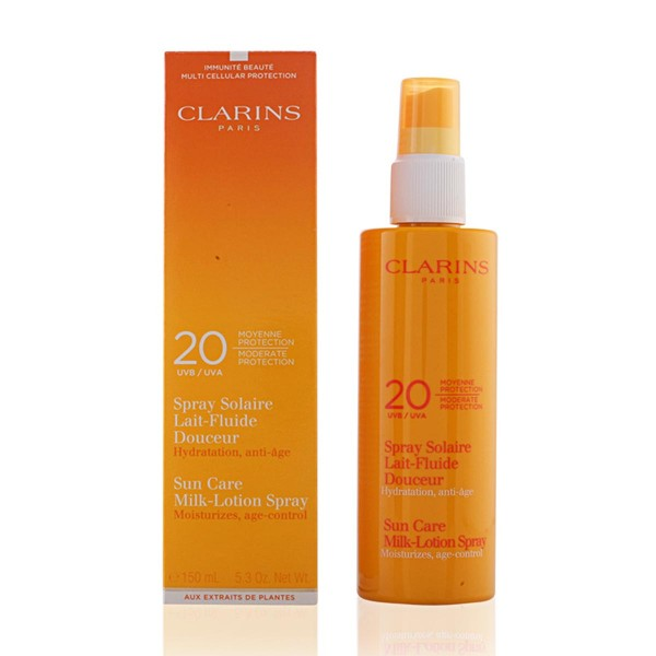 Clarins sun care milk-lotion spf20 150ml