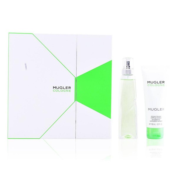 Thierry mugler cologne eau de toilette recargable 100ml vaporizador + shower gel 100ml