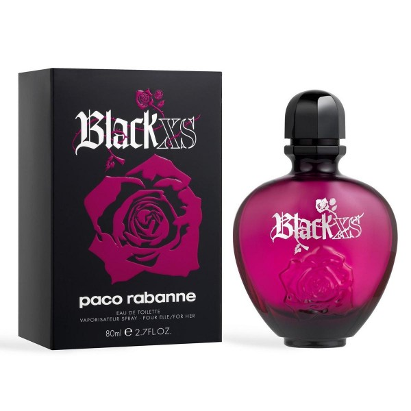 Paco rabanne black xs eau de toilette 80ml vaporizador