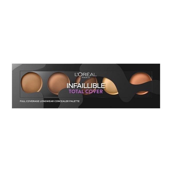 L'oreal infillible total cover palette 02 dark