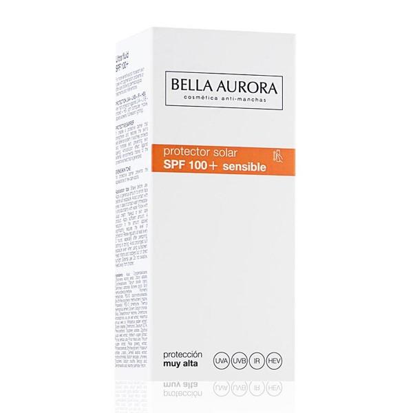 Bella aurora protector solar protector solar piel sensible spf100 40ml