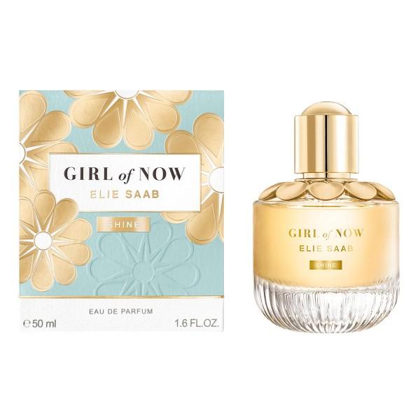 Elie saab girl of now shine eau de parfum 50ml vaporizador