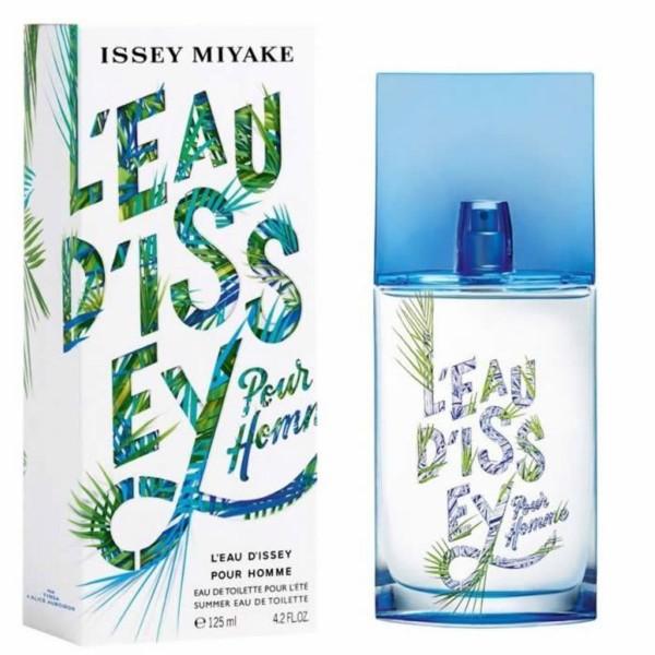 Issey miyake l'eau d'issey pour homme eau de toilette summer edition 125ml vaporizador