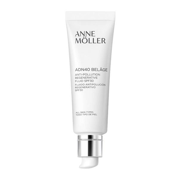 Anne moller adn40 belage anti-pollution regenerative fluid spf30 todo tipo de piel 50ml