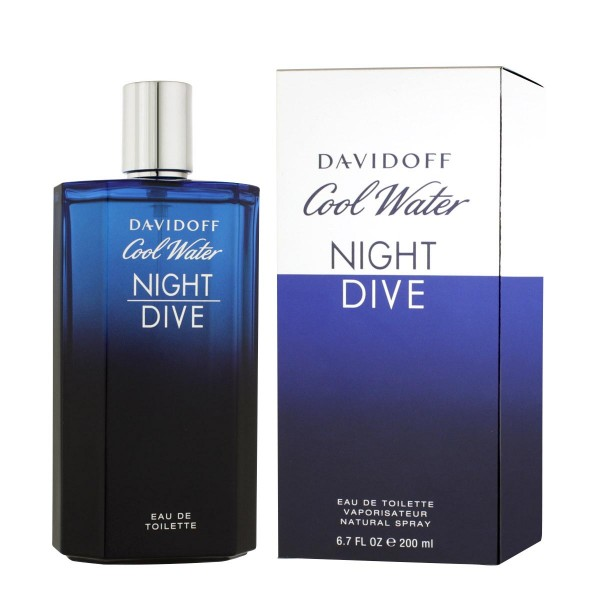 Davidoff cool water night dive eau de toilette 200ml vaporizador