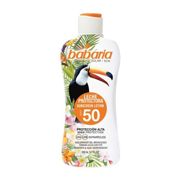 Babaria tropical sun leche protectora spf50 200ml